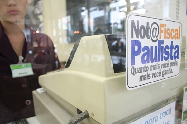 Nota fiscal Paulista (Imagem: Divulgação)